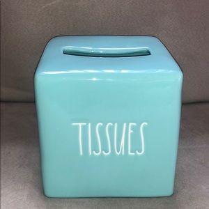Rae Dunn Tissue Box Cover